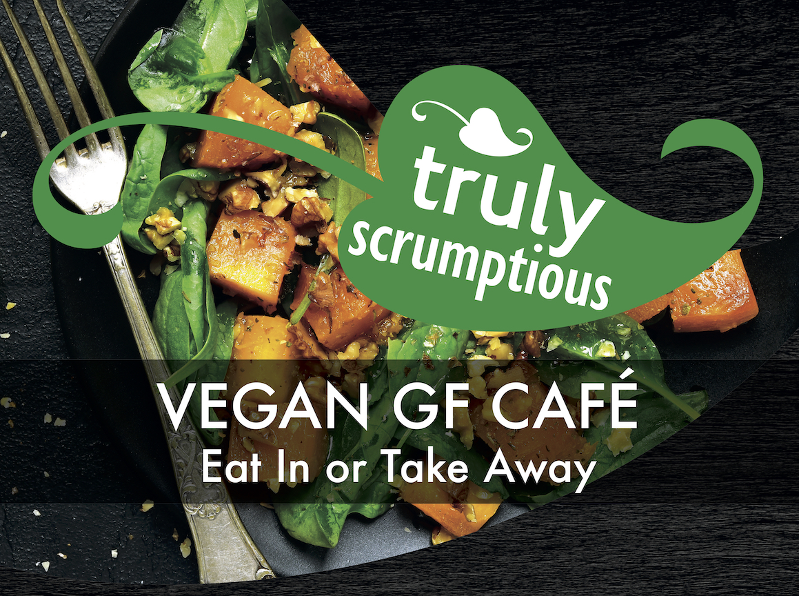 Truly Scrumptious Vegan Café In Ely